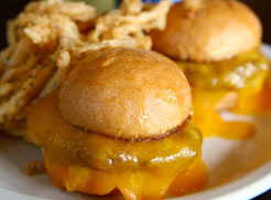 Cheesy Sliders